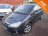 USED 2008 58 FORD C-MAX 1.6 ZETEC 5d 108 BHP SERVICE HISTORY