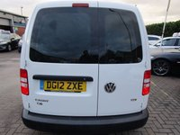 USED 2012 12 VOLKSWAGEN CADDY MAXI 1.6 C20 TDI 1d 101 BHP NO VAT ELECTRIC PAC