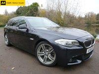 2011 BMW 5 SERIES 2.0 520D M SPORT TOURING 5d AUTO 181 BHP £13196.00