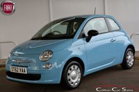 USED 2013 62 FIAT 500 1.2 POP 3 DOOR 69 BHP Finance? No deposit required and decision in minutes.