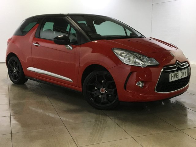 View our 2011 61 CITROEN DS3 1.6 E-HDI DSTYLE PLUS 3d 90 BHP