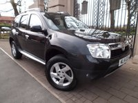 USED 2014 14 DACIA DUSTER 1.5 LAUREATE DCI 5dr 107 BHP *** FINANCE & PART EXCHANGE WELCOME *** 1 OWNER FROM NEW AIR/CON BLUETOOTH PHONE CD PLAYER AUX & USB SOCKETS