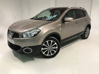 USED 2010 60 NISSAN QASHQAI 1.5 TEKNA DCI 5d 110 BHP BOSE SOUND SYSTEM+ FULL LEATHER+ FULL LENGTH GLASS PAN ROOF