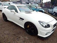 2011 MERCEDES-BENZ SLK 1.8 SLK200 BLUEEFFICIENCY AMG SPORT 2d AUTO 184 BHP £13495.00