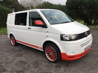 USED 2012 12 VOLKSWAGEN TRANSPORTER 2.0 TDI T5 CAMPERVAN CONVERSION GREAT LOOKING CAMPER WITH MUCH SPENT MANY EXTRAS LOVELY CONDITION