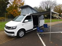 USED 2017 17 VOLKSWAGEN TRANSPORTER 2.0 T28 TDI P/V HIGHLINE BMT 1d 148 BHP Black Edition 150PS Highline Campervan