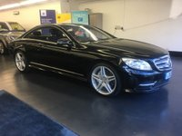 2013 MERCEDES-BENZ CL 4.7 CL500 BLUEEFFICIENCY 2d AUTO 435 BHP £22995.00