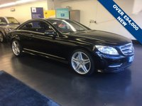 USED 2013 13 MERCEDES-BENZ CL 4.7 CL500 BLUEEFFICIENCY 2d AUTO 435 BHP LIST PRICE OVER £94,000 , HUMONGOUS SPEC, FULLY LOADED,  1 PREVIOUS OWNER