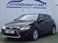 2014 LEXUS CT 1.8 Advance CVT 5dr £11450.00