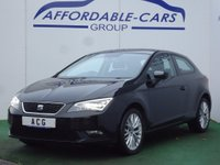 2015 SEAT LEON 1.6 TDI CR SE (Tech Pack) SportCoupe 3dr (start/stop) £7450.00