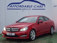 2012 MERCEDES-BENZ C CLASS 2.1 C220 CDI BlueEFFICIENCY AMG Sport 2dr £11450.00