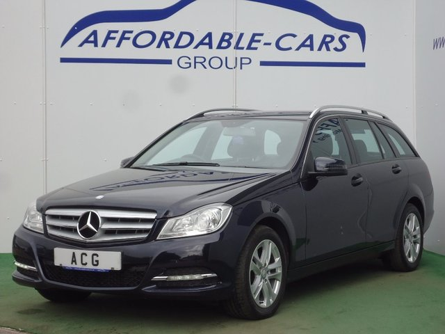 USED 2013 63 MERCEDES-BENZ C CLASS 2.1 C220 CDI SE (Executive) 5dr FULL S/H+BLUETOOTH+2 OWNER