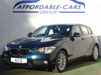 2012 BMW 1 SERIES 2.0 116d SE 5dr £7750.00