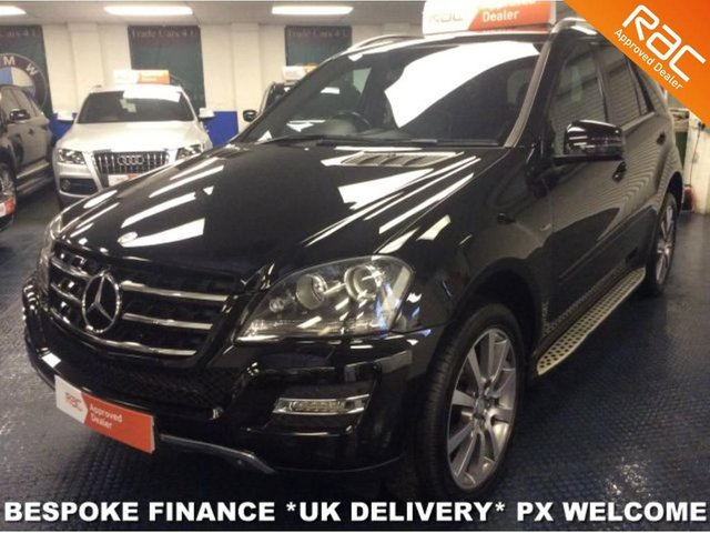 2011 11 MERCEDES-BENZ ML 350 CDI BLUE F DIESEL LIMITED GRAND EDITION