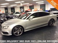 USED 2013 13 AUDI A7 3.0 BiTDI DIESEL 313 QUATTRO S LINE BLACK EDITION COMPETITIVE FINANCE - NATIONWIDE DELIVERY - PART EX WELCOME - HPI CLEAR - L@@K