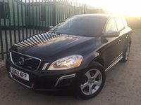USED 2012 62 VOLVO XC60 2.4 D4 R-DESIGN NAV AWD 5d AUTO 161 BHP LEATHER PRIVACY NO FINANCE REPAYMENTS FOR 2 MONTHS STC. 4WD. SATELLITE NAVIGATION. R DESIGN BODYKIT. STUNNING BLACK MET WITH FULL BLACK R-DESIGN LEATHER TRIM. HEATED SEATS. CRUISE CONTROL. 18 INCH ALLOYS. COLOUR CODED TRIMS. PRIVACY GLASS. PARKING SENSORS. BLUETOOTH PREP. AIR CON. TRIP COMPUTER. R/CD PLAYER. MFSW. MOT 11/18. ONE PREV OWNER. SERVICE HISTORY. FCA FINANCE APPROVED DEALER. TEL 01937 849492