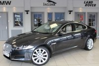 USED 2013 62 JAGUAR XF 3.0 D V6 PREMIUM LUXURY 4d AUTO 240 BHP FULL SERVICE HISTORY + FULL LEATHER SEATS + SAT NAV + BLUETOOTH + 19 INCH ALLOYS + HEATED AND COOLED FRONT SEATS + TINTED GLASS + CRUISE CONTROL + REAR PARKING SENSORS