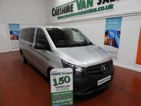 USED 2017 17 MERCEDES-BENZ VITO 2.1 114 BLUETEC TOURER PRO 5d 136 BHP AUTOMATIC