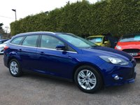 USED 2014 64 FORD FOCUS 1.6TDCI TITANIUM NAVIGATOR ESTATE 5d  1 PRIVATE OWNER FROM NEW NO DEPOSIT PCP/HP FINANCE ARRANGED , APPLY HERE NOW