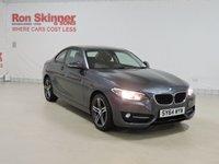 USED 2014 64 BMW 2 SERIES 2.0 218D SPORT 2d 141 BHP