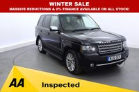2012 LAND ROVER RANGE ROVER 4.4 TDV8 WESTMINSTER 5d AUTO 313 BHP £24000.00