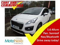 2016 PEUGEOT 3008 1.6 Blue HDI Allure 5dr 120 £11995.00