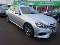 USED 2014 14 MERCEDES-BENZ E CLASS 2.1 E250 CDI AMG SPORT 4d AUTO 202 BHP **1 OWNER...JUST ARRIVED..FULL BLACK LEATHER... SAT NAV***