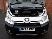 USED 2015 65 TOYOTA PROACE 2.0 L2H2 HDI 1200 P/V H/R 1d 127 BHP