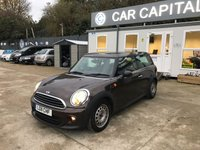 2011 MINI CLUBMAN 1.6 ONE 5d AUTO 98 BHP £6495.00
