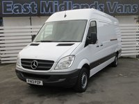 USED 2013 13 MERCEDES-BENZ SPRINTER 313 CDI LWB Hi Roof 2.1 130 BHP 2013 (13) Plate