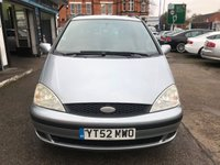 USED 2002 52 FORD GALAXY 2.3 LX 16V 5d AUTO 144 BHP