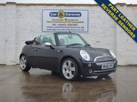 USED 2006 06 MINI CONVERTIBLE 1.6 COOPER 2d 114 BHP Reverse Sensors Part Leather 0% Deposit Finance Available
