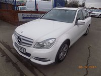 USED 2013 13 MERCEDES-BENZ C CLASS 2.1 C220 CDI BLUEEFFICIENCY EXECUTIVE SE 5d 168 BHP