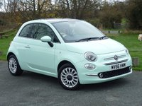 USED 2016 66 FIAT 500 1.2 LOUNGE 3d 69 BHP WITH 1 YEAR FREE AA MEMBERSHIP**  ONE PRIVATE OWNER FULL FIAT DEALER SERVICE HISTORY IMMACULATE THROUGHOUT