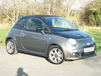USED 2013 63 FIAT 500C 1.2 C GQ 3d 69 BHP WITH 1 YEAR FREE AA MEMBERSHIP**   ONE PRIVATE OWNER FULL FIAT DEALER SERVICE HISTORY