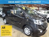 2014 VAUXHALL VIVARO 1.6 2700 L1H1 CDTI P/V SPORTIVE 120BHP WITH AIR CON-ONE OWNER  £10750.00
