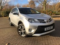 USED 2015 15 TOYOTA RAV4 2.0 D-4D INVINCIBLE AWD 5d 124 BHP
