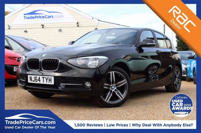 View our 2014 64 BMW 1 SERIES 2.0 118D SPORT 5d 141 BHP
