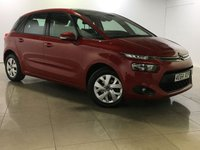 USED 2014 64 CITROEN C4 PICASSO 1.6 E-HDI AIRDREAM VTR PLUS 5d 113 BHP PARKING AID / BLUETOOTH