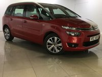USED 2016 CITROEN C4 PICASSO 1.6 GRAND BLUEHDI EXCLUSIVE 5d AUTO 118 BHP SAT NAV / DAB / BLUETOOTH