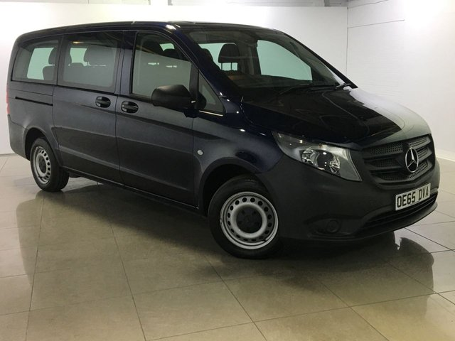 View our 2015 65 MERCEDES-BENZ VITO 1.6 111 BLUETEC TOURER LWB PRO 5d 114 BHP Euro 6