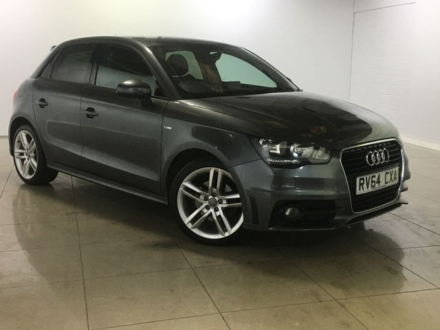 View our 2014 64 AUDI A1 1.6 SPORTBACK TDI S LINE 5d 105 BHP