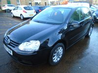 2007 VOLKSWAGEN GOLF 1.9 MATCH TDI DSG 5d AUTO 103 BHP £3850.00