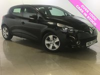 USED 2014 14 RENAULT CLIO 1.5 EXPRESSION PLUS ENERGY DCI ECO2 S/S 5d 90 BHP 0 RFL / AUX Input / Bluetooth