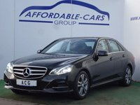 2013 MERCEDES-BENZ E CLASS 2.1 E220 CDI SE 4d AUTO 168 BHP £14450.00