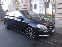USED 2014 64 MERCEDES-BENZ B CLASS 1.8 B200 CDI BLUEEFFICIENCY SPORT 5d AUTO 136 BHP ****FINANCE ARRANGED***PART EXCHANGE***1OWNER***£30 ROAD TAX***FULL LEATHER***