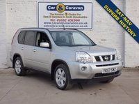 USED 2008 57 NISSAN X-TRAIL 2.0 AVENTURA EXPLORER DCI 5d 171 BHP Superb History SAT-NAV Leather 0% Deposit Finance Available