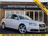 USED 2005 55 AUDI A4 2.0 TDI S LINE 4d AUTO 140 BHP S-LINE, AUTOMATIC, FULL SERVICE HISTORY