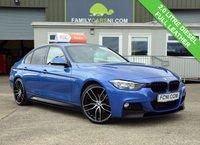 USED 2014 14 BMW 3 SERIES 2.0 320D M SPORT 4d 181 BHP FULL LEATHER INTERIOR
