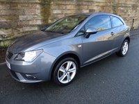 2014 SEAT IBIZA 1.4 TOCA 3d 85 BHP £6000.00